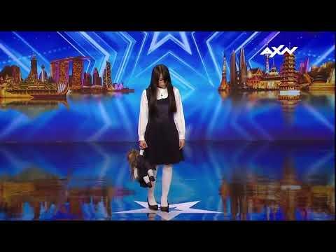 Chica Asusta En Asia Tiene Talento Show thumbnail