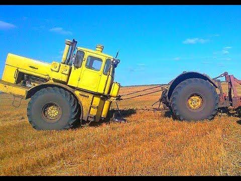 НИКТО ОТ КИРОВЦА ТАКОГО ЯВНО НЕ ОЖИДАЛ! Мега трактор Кировец Трактор ЗВЕРЬ К-700, К-701 СИЛА И МОЩЬ