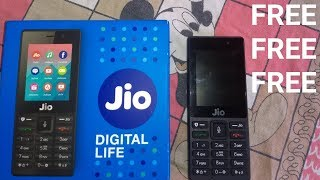 Jio phone unboxing video and full review ,6 months FREE 2019