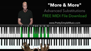 More ADVANCED Chord Substitutions