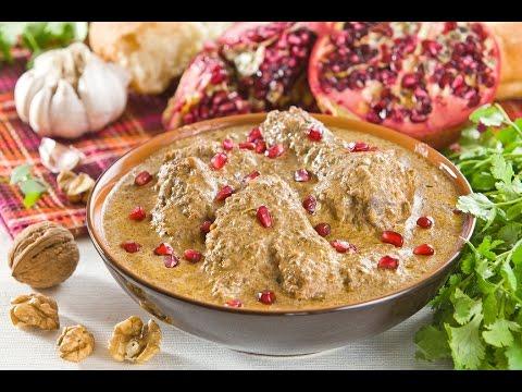 Сациви из курицы(Рецепт №1) Очень вкусный и легкий рецепт(chicken in peanut sauce)