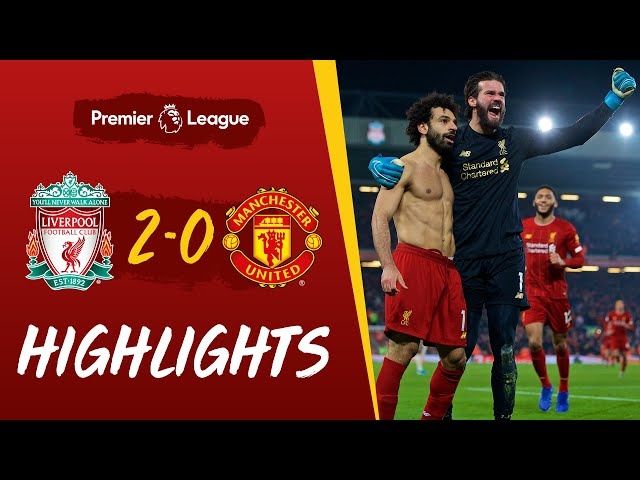 Liverpool 2-0 Man Utd | Van Dijk and Salah win it at Anfield | Highlights thumbnail