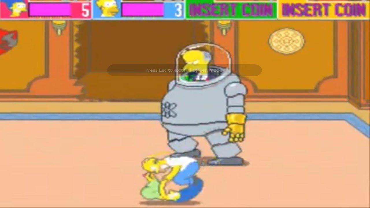 The Simpsons Arcade Gameplay