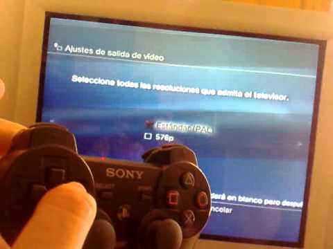 Poner PS3 en TV vieja/de tubo despues de conectarla por HDMI