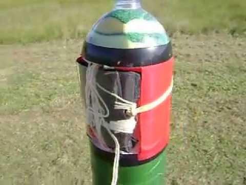 cohetes de agua de 2 etapas