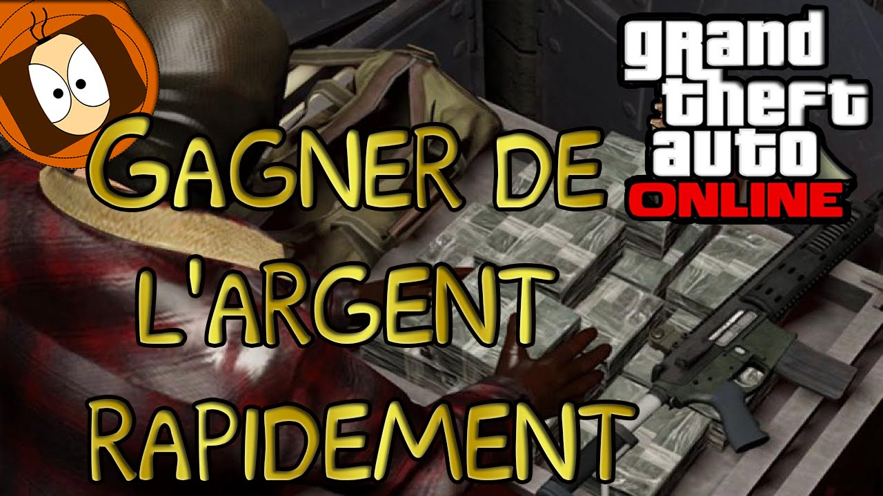 gta v online comment gagner de l 39 argent rapidement youtube. Black Bedroom Furniture Sets. Home Design Ideas
