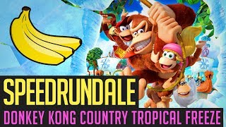 Donkey Kong Country: Tropical Freeze (Any%) Speedrun in 1:48:30 von Mr. Tiger | Speedrundale