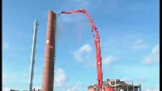 NKR Demolition extreme - supermachine 50 meter long range/ NKR Demolition Group - chimney