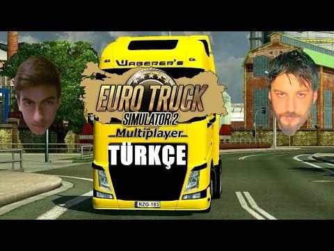 Euro Truck Simulator 2 Türkçe Online Multiplayer | Volvo Şekli