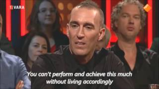 DWDD: Fernando Ricksen ALS / MND (English subs)