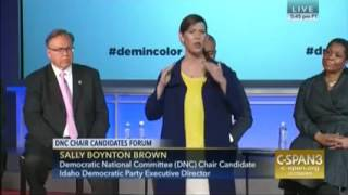 @SallyBSquared  DNC Leader Says Their Own Whites Are Very Racist & HER JOB IS TO SHUT OTHER WHITE PE