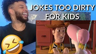 Dirty Adult Jokes in Kids & Family Movies 3 | Reaction