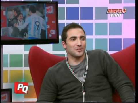 Gonzalo Higuain en Pura Quimica (18-06-2012)