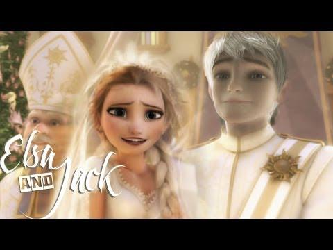 ❄Frozen  ♥ СВАДЬБА♥   Эльзы и Джека