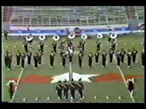 Jacksonville High School Band 1986 CAMC War Memorial Stadium