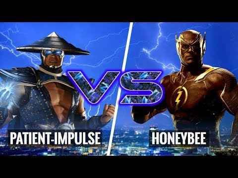 HE KEPT BLOCKING MY UNBLOCKABLE SET UP! HoneyBee (Flash) vs Patient-Impulse (Raiden)