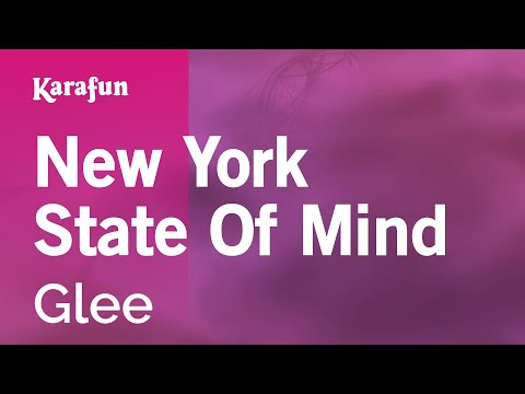 Karaoke New York State Of Mind - Glee * video