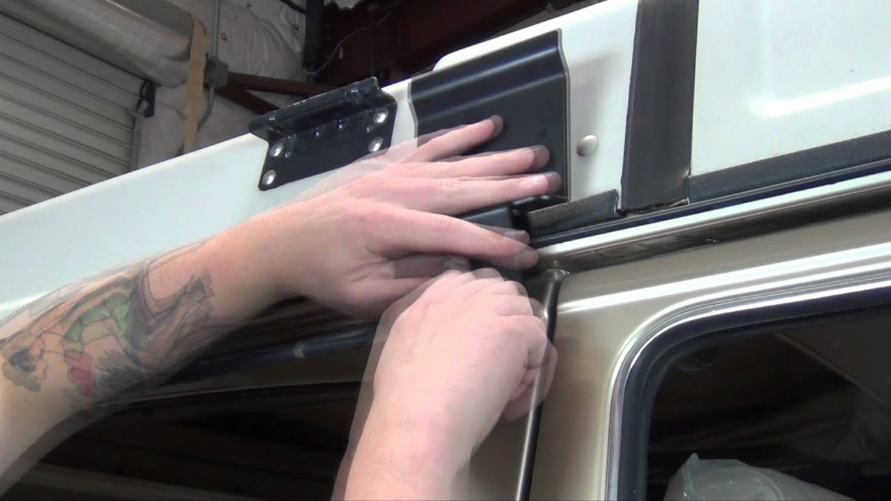 Gowesty Fiamma Awning Installation On A Vanagon Youtube