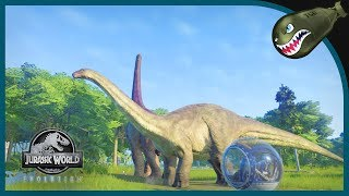 Jurassic World Evolution | Completing the Isla Sorna Science Mission #19 (JWE Gameplay)