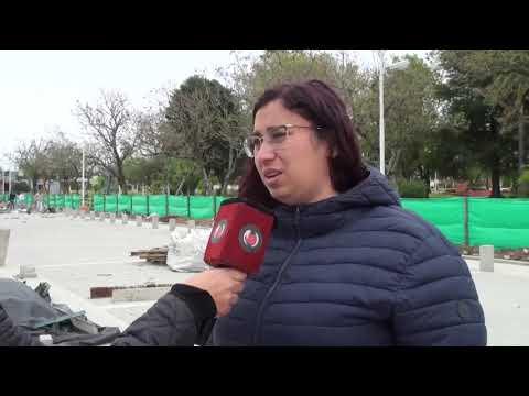 Continúa la obra de remodelación de la calle San Martín