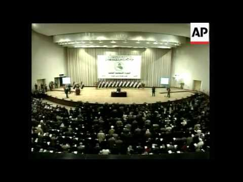 First session of new parliament convenes in Baghdad