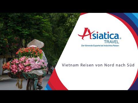 Vietnam Reisen Von Nord Nach Süd