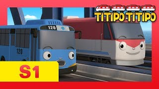 TITIPO S1 EP2 l Say hello to Tayo l Trains for kids l Where's Choo Choo Town? l TITIPO TITIPO
