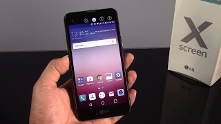 LG X Screen, review en español