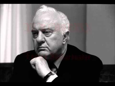 In Memorian - Eduard Shevardnadze