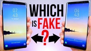 $90 Fake Samsung Galaxy Note 8 vs $929 Note 8!