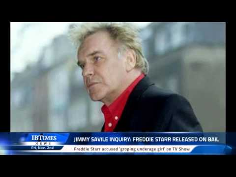 Jimmy Savile Inquiry: Freddie Starr released on bail