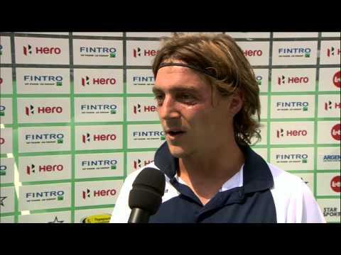 Post Match Interview Tom Genestet