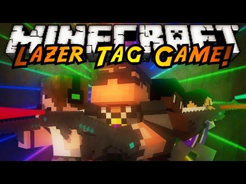 Minecraft Mini-Game : LAZER TAG!