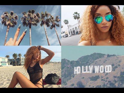 VLOG  My Trip to California! (LA, San Diego, Beach, Crash Landing?!)
