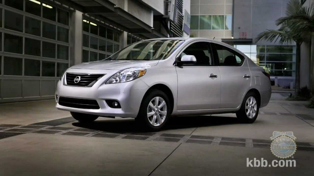 2012 Nissan Versa Sedan Review Kelley Blue Book Youtube