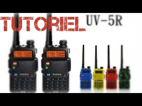 Tuto & Review   UHF Baofeng uv-5r   how to set PMR446   [HD]  Français