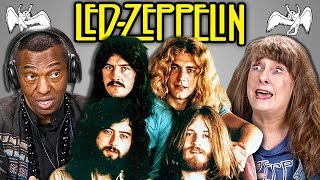 ELDERS REACT TO LED ZEPPELIN