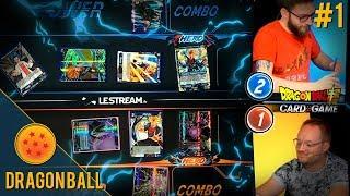 L'affrontement Zouloux vs Max - Dragon Ball Super Card Game #1