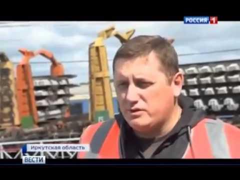 Реконструкция самой длинной дороги в мире Транссиб,  новости России