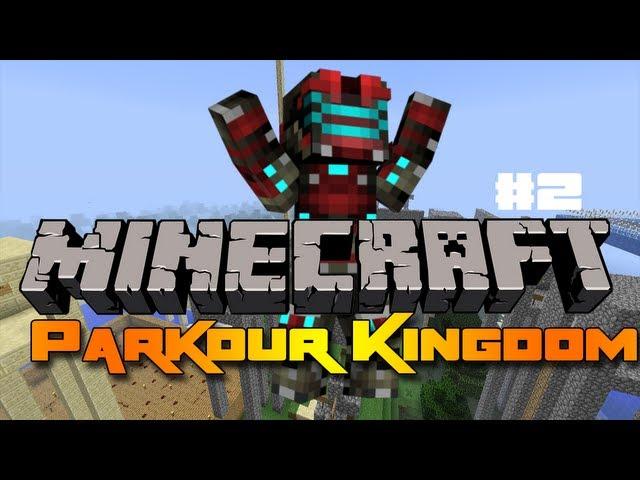 Minecraft: Parkour Kingdom - Část 2 - Jsem Lama!