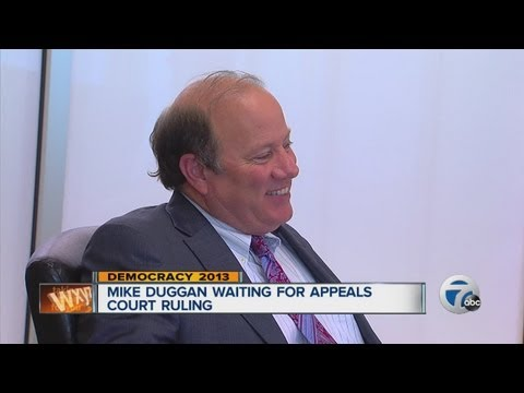 Mike Duggan awaits appeals court ruling on mayoral ballot
