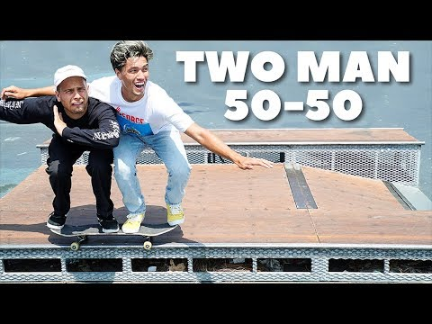 THE TWO PERSON 50 50!!