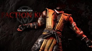 Mortal Kombat X Faction Kills Fatality Lin Kuei - Todas las Faction Kills (Lin Kuei)