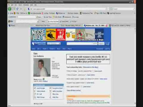 Myspace CSS Tutorial (Part 1) Video