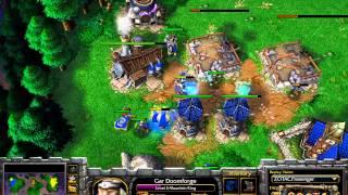 EmalFan (HU) vs Worker (Orc) - WarCraft 3 - Showcase Match- WC458