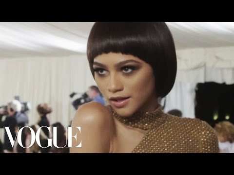 Zendaya and Michael Kors on Serving Robot Realness | Met Gala 2016