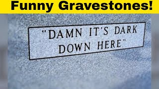 Hilarious Gravestones By People Whose Sense Of Humor Will Live Forever