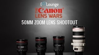 Best Canon 50mm Zoom Lens? - The SLR Lounge Canon Lens Wars Series Episode 7