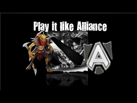 Dota 2 - Play it like Alliance #2
