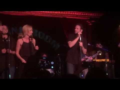 David Duchovny and Gillian Anderson sing